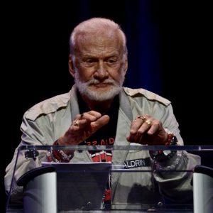 Buzz Aldrin. Photo: Teodor Bjerrang-teodor@bjerrang.no